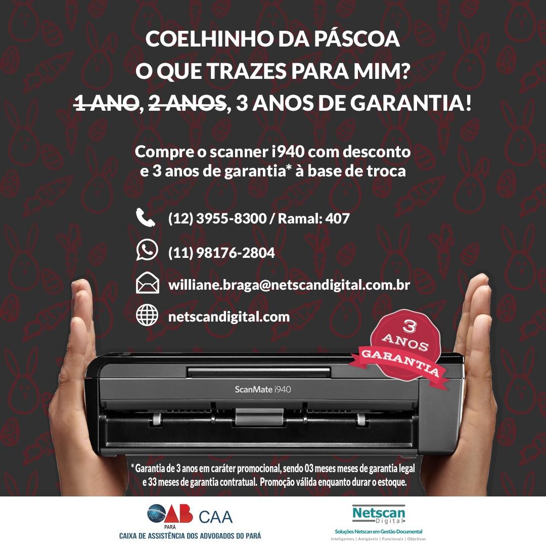 NETSCAN PROMOÇÃO DE PÁSCOA